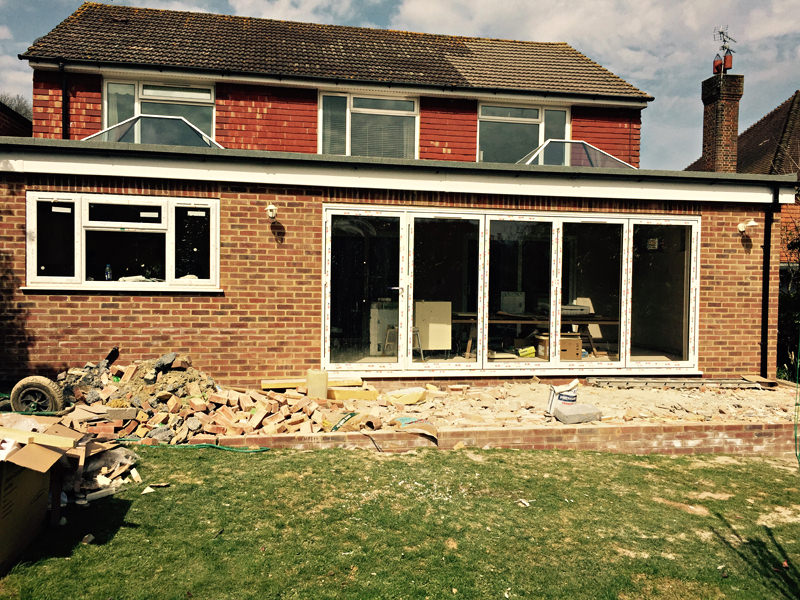 House Extension Outside